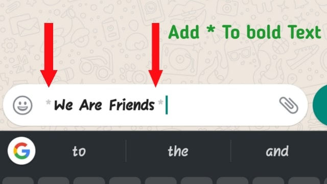 How To Bold Text In Whatsapp easily