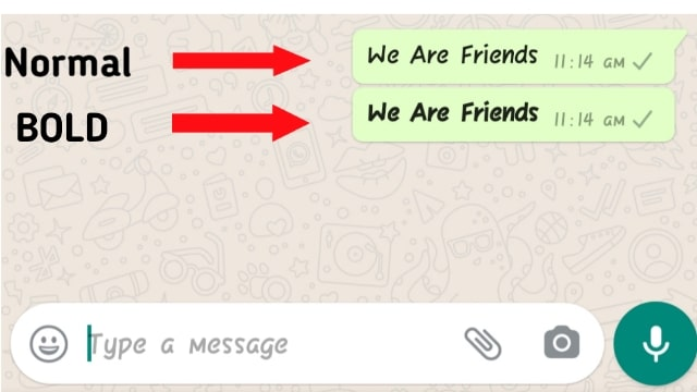 How To Bold Text In Whatsapp